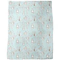 Penguin Blossom Fleece Blanket