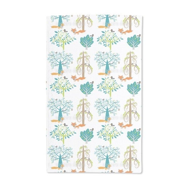 The Whispering Forest Hand Towel (Set of 2)