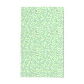 Golden Leaf Spring Hand Towel (Set of 2)