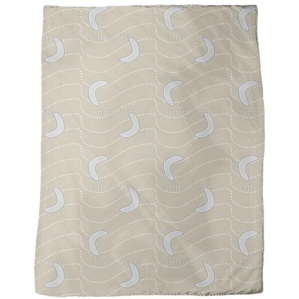 Desert Boomerang Fleece Blanket