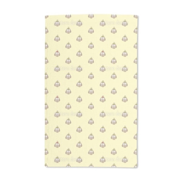 Funny Cartoon Owls Hand Towel (Set of 2)