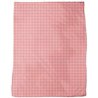 Rustic Check Fleece Blanket