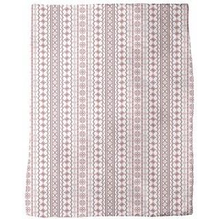 Romanian Embroidery Fleece Blanket