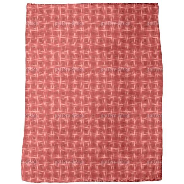 Textus Red Fleece Blanket