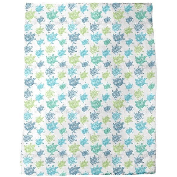 The Fantastic Journey of the Sea Turtles Fleece Blanket