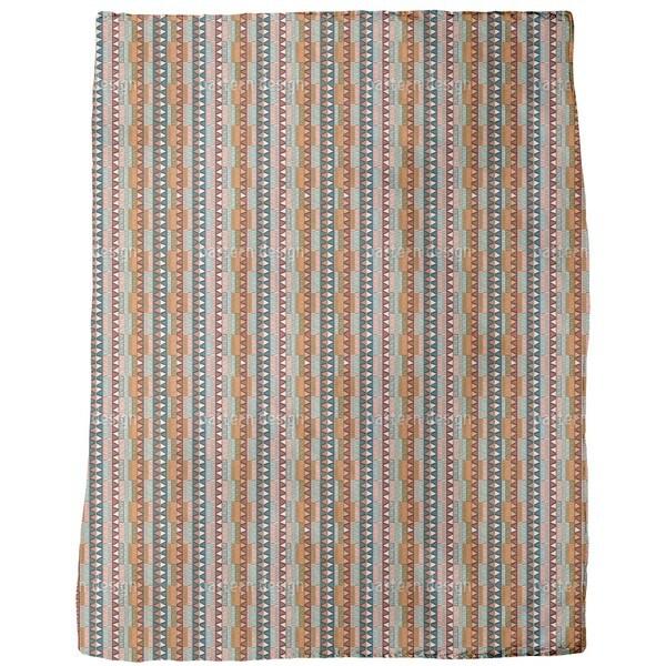 Tribal Color Fleece Blanket