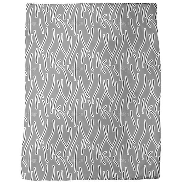 Bacteria Fleece Blanket