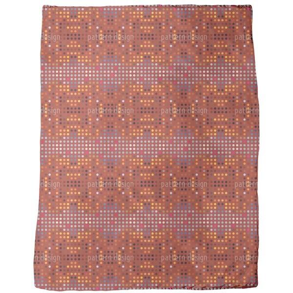 Australian Point System Fleece Blanket