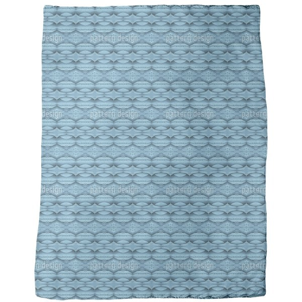 Blue Wonderland Fleece Blanket