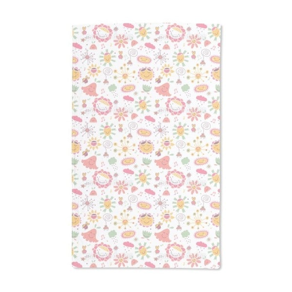 The Flower Song Hand Towel (Set of 2)