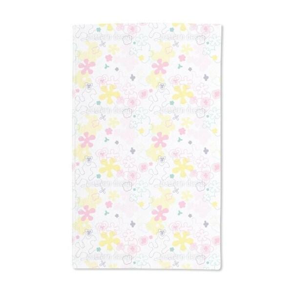 Dream Flower Garden Hand Towel (Set of 2)