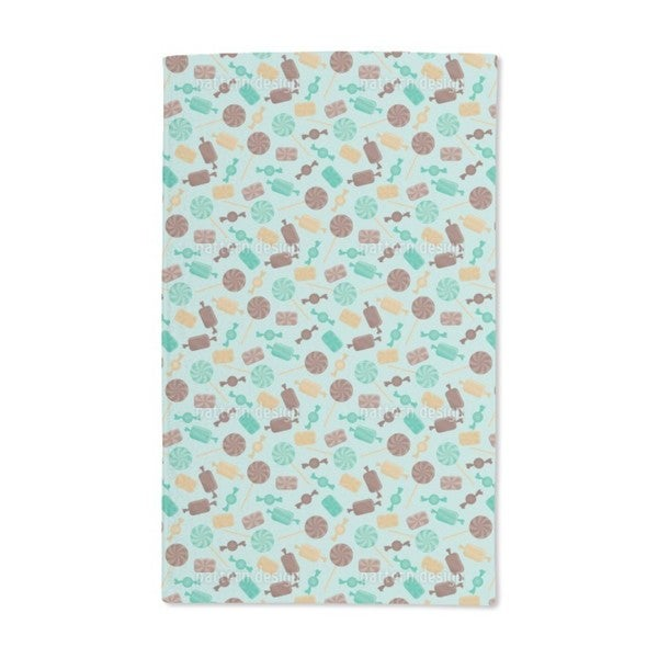 Candy Mint Hand Towel (Set of 2)