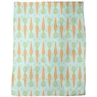 Lotta Carrota Dance the Polka Dots Fleece Blanket