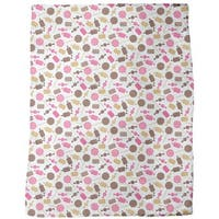 Candy Caramel Fleece Blanket