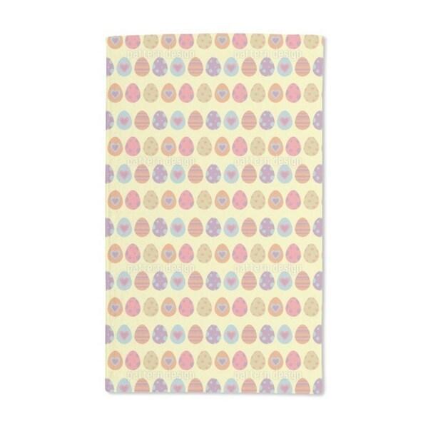 Lovely Easter Eggs Hand Towel (Set of 2)