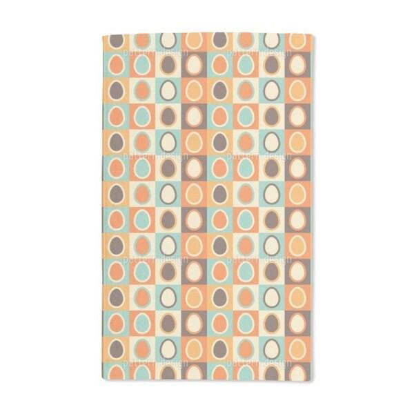 Retro Eggs Hand Towel (Set of 2)