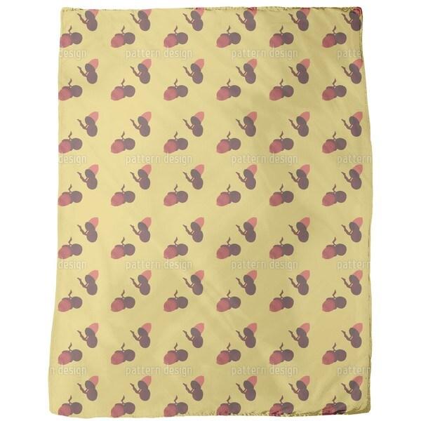 Acorns Fleece Blanket
