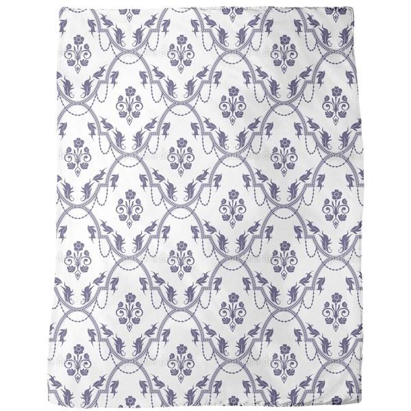 Rocko Blue Fleece Blanket
