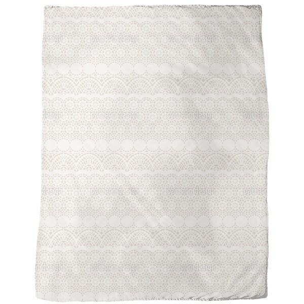 Alhambra Beige Fleece Blanket