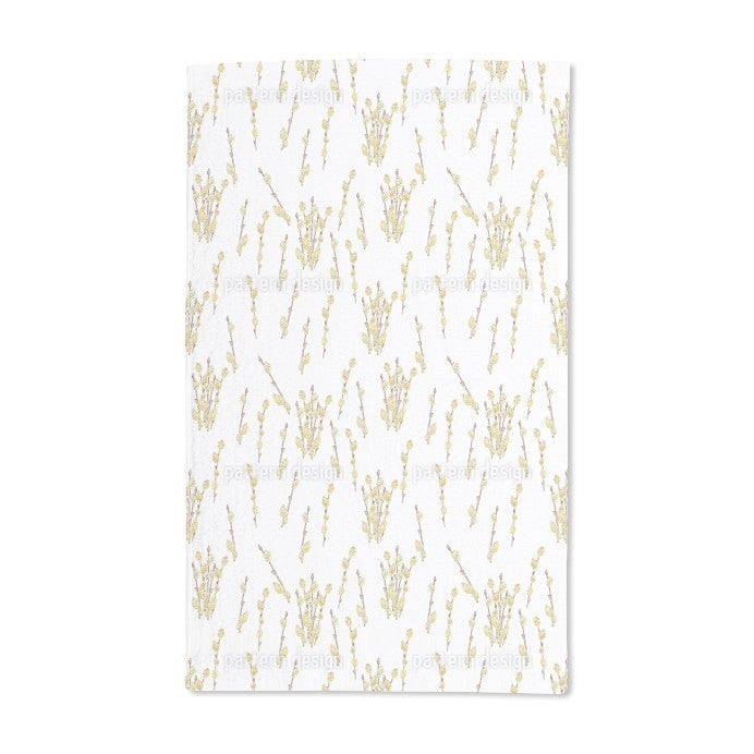 Uneekee Pussy Willow Hand Towel (Set of 2) (Pussy Willow ...