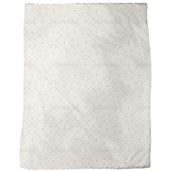 Classy Damask Fleece Blanket