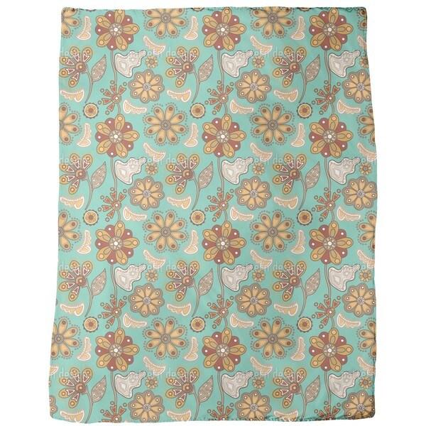 Flower Magic Saint Petersburg  Fleece Blanket