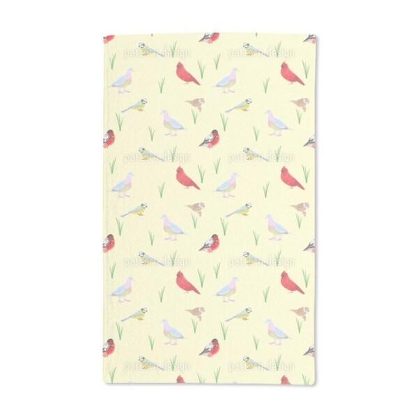 Birds Species Hand Towel (Set of 2)