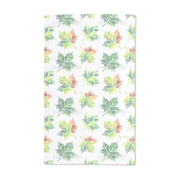 Turning Leaves Hand Towel (Set of 2)