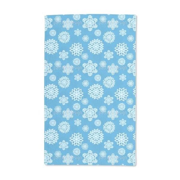 Cool Snowflake Hand Towel (Set of 2)