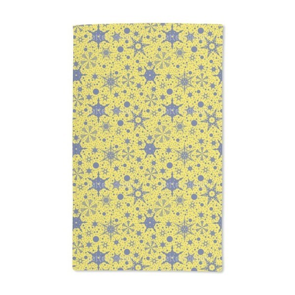 Snowflake Decorations Hand Towel (Set of 2)