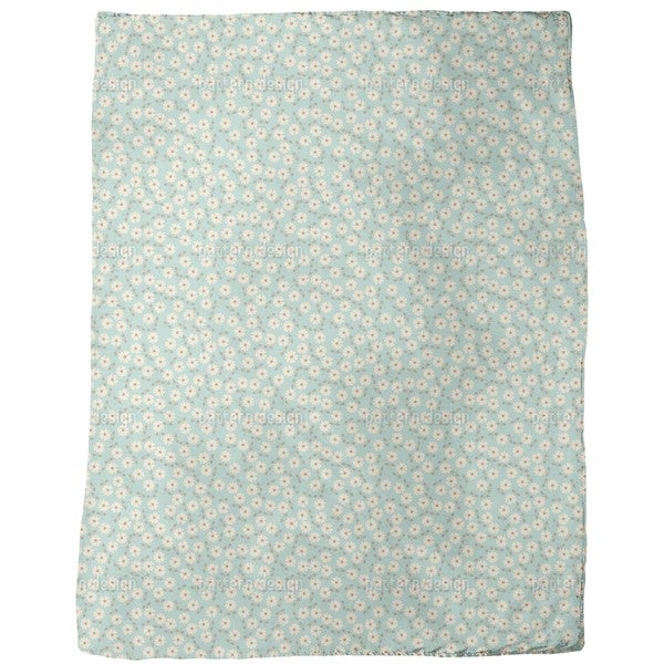 Emille's Fleurs Fleece Blanket