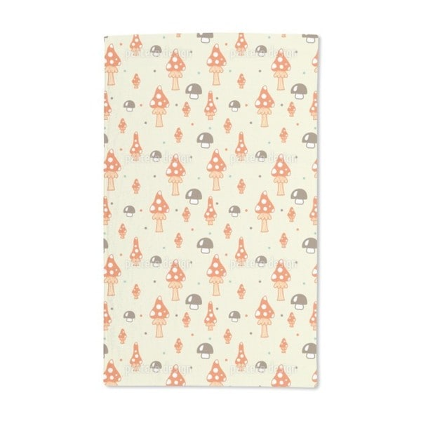 The Mushrooms in the Woods Hand Towel (Set of 2)
