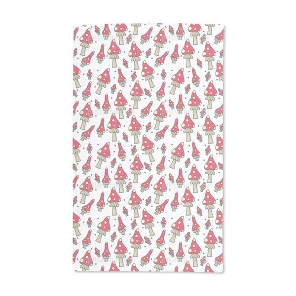 Fly Agarics Hand Towel (Set of 2)