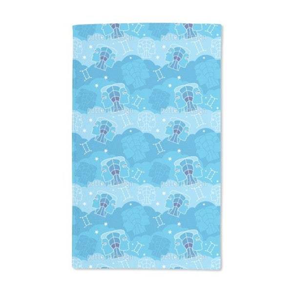 Born in Gemini Sign Hand Towel (Set of 2)