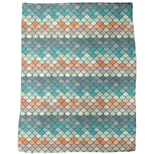 Scales Fleece Blanket