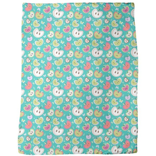 The Sweetest Apples Fleece Blanket