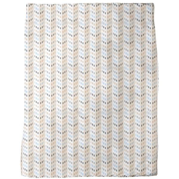 High Rise Chevron Fleece Blanket