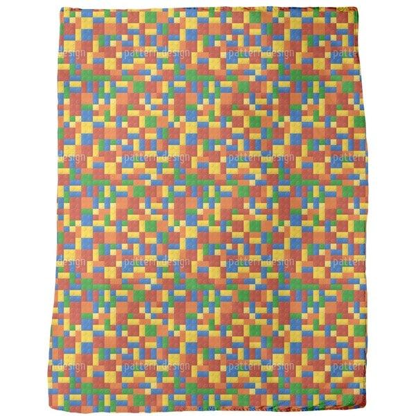 Plastic Pieces Fleece Blanket