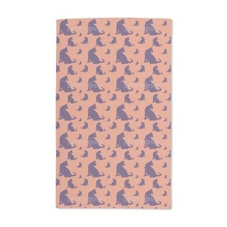Watch Out For Cats Hand Towel (Set of 2)
