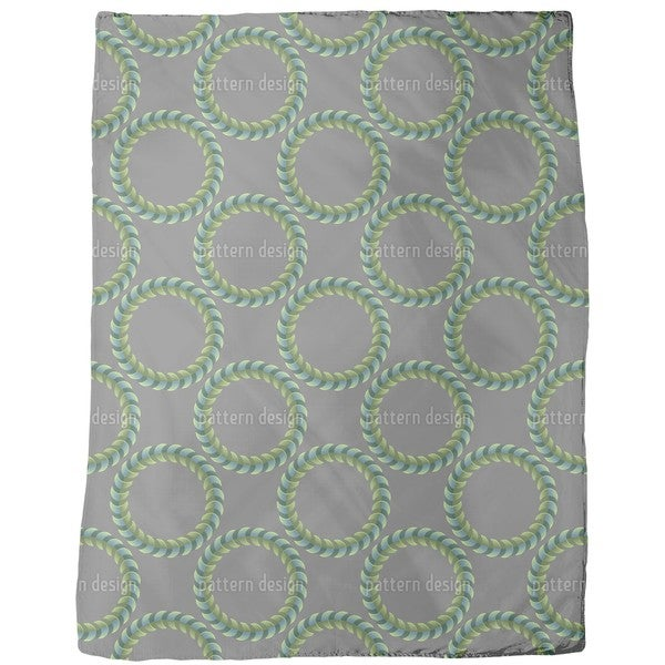 Lord of the Spiral Rings Fleece Blanket