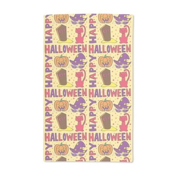 Halloween Greetings Hand Towel (Set of 2)