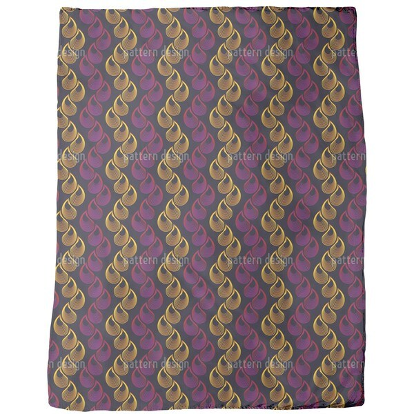 Golden Tears Fleece Blanket