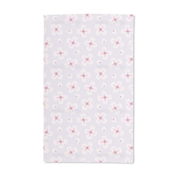 Delicate Blossoms Hand Towel (Set of 2)