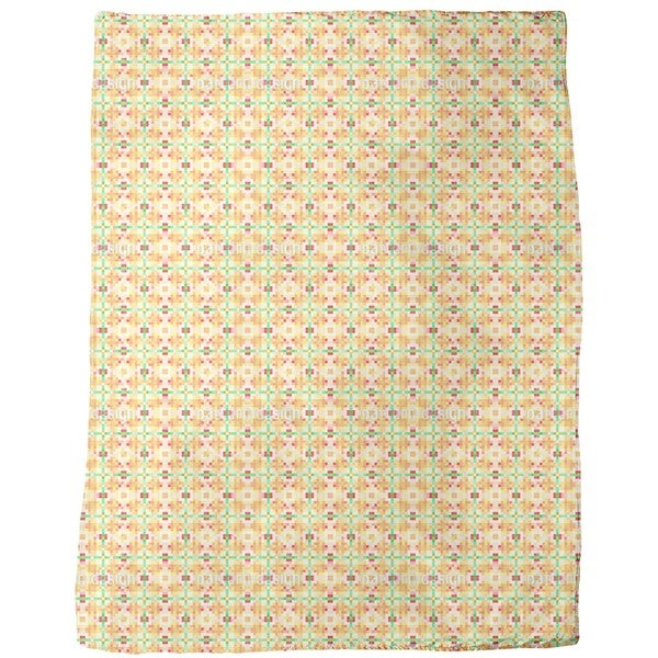 Paper Mosaic Fleece Blanket