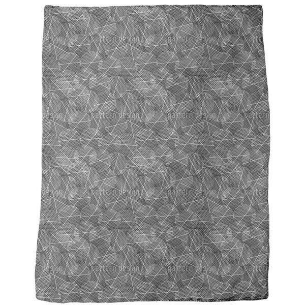 Reticular Circles Fleece Blanket