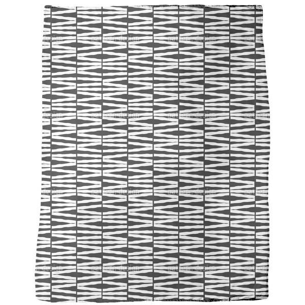 No Zebra Crossing Fleece Blanket