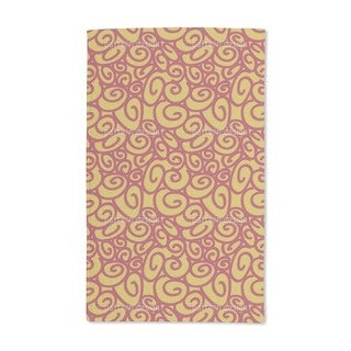 Beginning and End Gold Hand Towel (Set of 2)