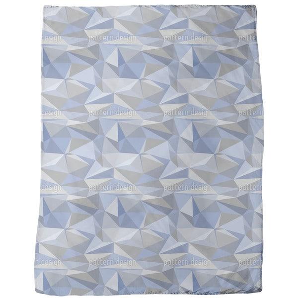 Iceberg Geometry Fleece Blanket