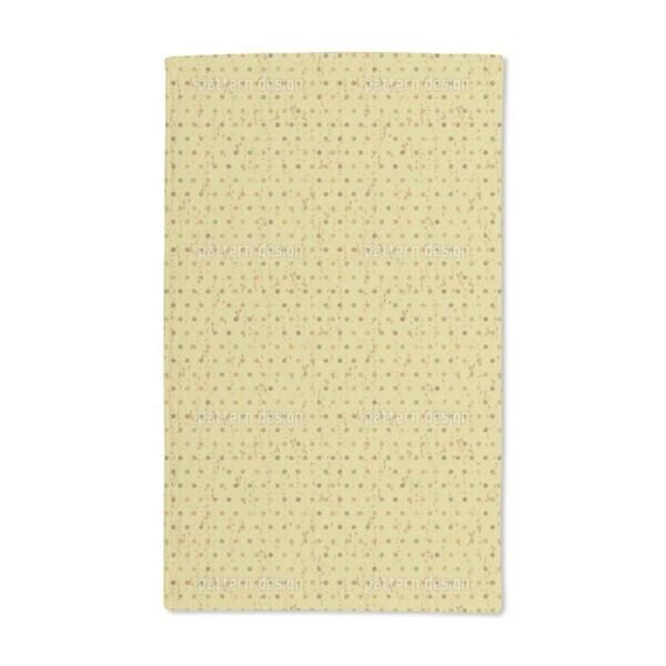 Retro Polka Dots Hand Towel (Set of 2)
