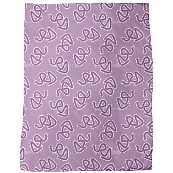 Freestyle Snake Fleece Blanket